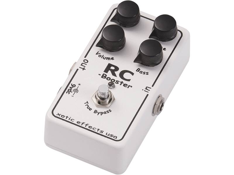 Xotic RC BOOSTER | Overdrive, Distortion, Fuzz, Boost - 1