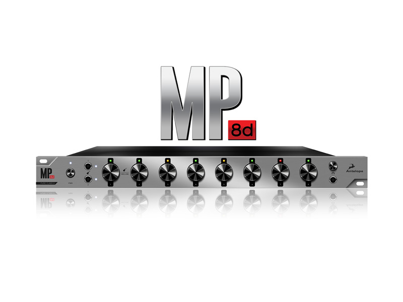 Antelope Audio MP8d 8-channel Mic Preamp and A/D | Zvukové karty, Audio Interface - 1
