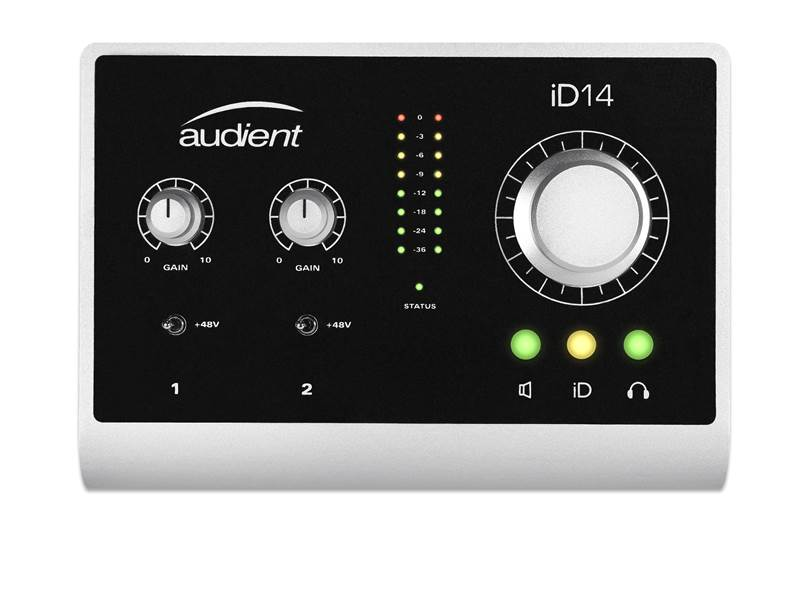 AUDIENT iD14 USB High Performance interface | Zvukové karty, Audio Interface - 1