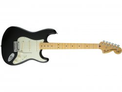 FENDER THE EDGE STRAT MN BLACK | Gitary typu Strat