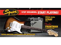 SQUIER Packet STRAT BSB 10G 230V EU