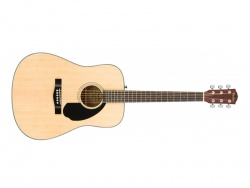 FENDER kytara CD-60S NAT | Dreadnought