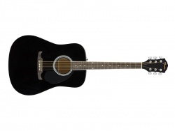 Fender FA-125 Dreadnought, Black NRW | Dreadnought