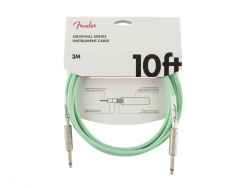 FENDER Original Series Instrument Cable, 10', Surf Green | 3m