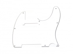 FENDER Pickguard Telecaster, 8-Hole Mount, White, 3-Ply