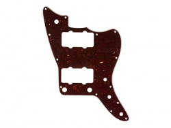 Fender American Professional Jazzmaster Pickguard, 13-Hole, Shell | Pickguardy