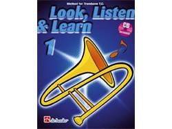 LOOK, LISTEN & LEARN 1 + CD method for trombone | Pre škôlky, učebnice