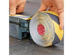 TESA Anti-Slip tape black-yellow 60951 15m