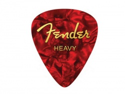 FENDER HEAVY PICK MOUSE PAD