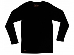 FENDER tričko LS Thermal, black M