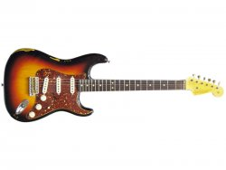 FENDER Custom Shop 1963 Strat HR 3TS Tortoise Shell