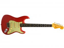 FENDER Custom Shop 1962 Strat Journeyman Relic Fiesta Red