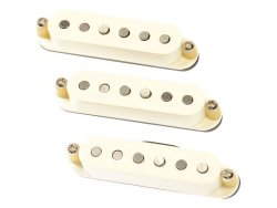 Bare Knuckle PAT Pend 59 Slab Board single coil set Parchment White