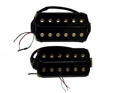 Bare Knuckle Riff Raff calibrated open set Humbucker Black