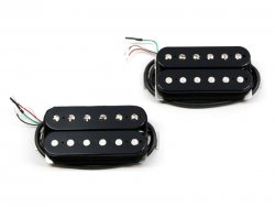 Bare Knuckle Nailbomb calibrated open set Humbucker Black