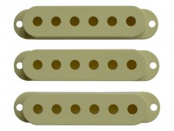 Bare Knuckle Strat Cover Mint Green set | Potenciometre, knoby