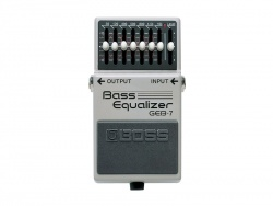 BOSS GEB 7 bass equalizer