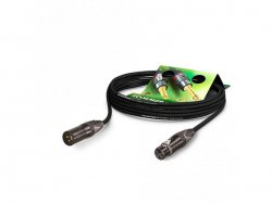 Sommer Cable CSMF-0300 CLUB BLACK ZILK - kabel 3m