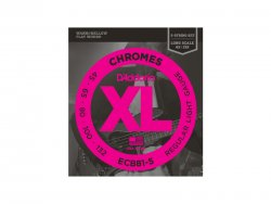D'ADDARIO ECB81-5 Chromes Regular Light - .045 - .132