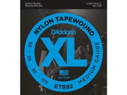 D´Addario ETB 92 SET BASS TAPEWOUND 50-105 MEDIUM