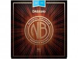 D'ADDARIO NB1253 Nickel Bronze Acoustic Light