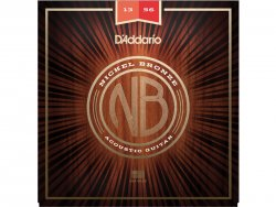 D'ADDARIO NB1356 Nickel Bronze Acoustic Light