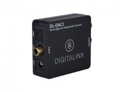 Intelix DL-DAC2, Stereo Digital to Analog Audio Converter