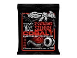 ERNIE BALL 2730 - Cobalt 7 string Skinny Top Heavey Bottom 10-62