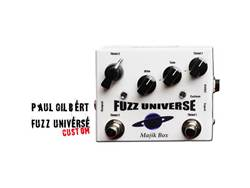 Majik Box Fuzz Universe Paul Gilbert Custom