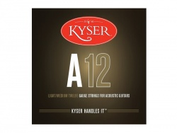 Kyser USA LIGHT/MEDIUM A12, 92/8 phosphor bronze