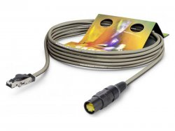 Sommer Cable P7R1-1000-GR SC-MERCATOR PUR - 10m | Datové kabely, LAN, DANTE