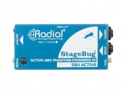 Radial StageBug SB-1 Acoustic, DI box
