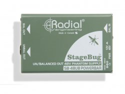Radial StageBug SB-48UB phantom power supply | Aktívne DI-boxy