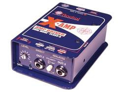 Radial X-Amp aktívny class-A re-amping box