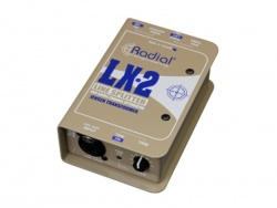 Radial LX2 - line level splitter-attenuator