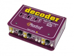Radial Decoder - Mid/Side Matrix and Mic Preamp