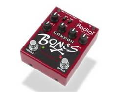 Radial BONES London dual distortion, gitarový efekt