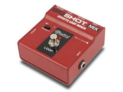 Radial BigShot MIX, true-bypass Effects mixer pedal